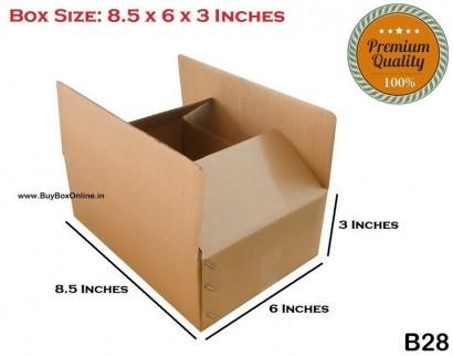 B28 - 8.5x6x3 - Extra Heavy - 3 ply (FREE SHIPPING)