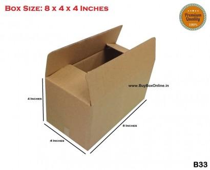B33 - 8x4x4 - Extra Heavy - 3 ply (FREE SHIPPING)