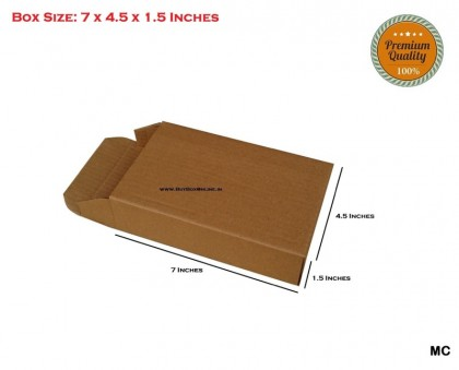 CP - 7x4.5x1.5 Mobile Cover boxes - Extra Heavy - 3 ply (FREE SHIPPING)