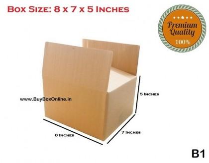 B1 - 8x7x5 - Extra Heavy - 3 ply (FREE SHIPPING)