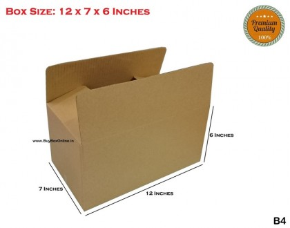 B4 - 12x7x6 - Extra Heavy - 3 ply (FREE SHIPPING)